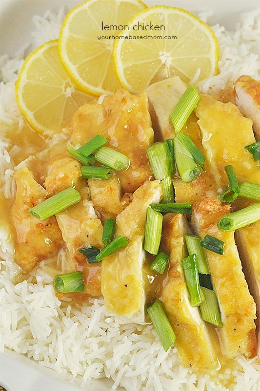 This homemade version of lemon chicken is as good, if not better, than the Chinese restaurant version.