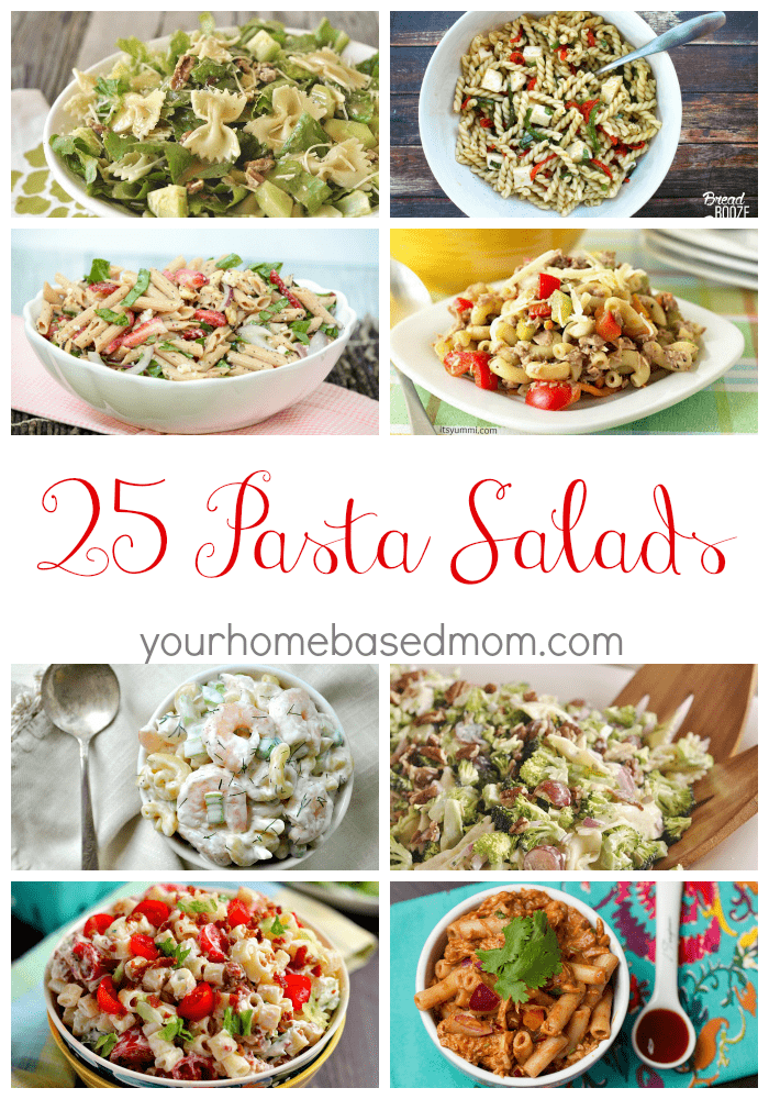 25 Pasta Salad Recipes - perfect for your next potluck or BBQ