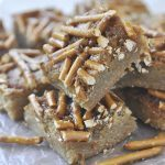 Salted Caramel Blondies
