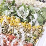 trader joes salad in a bowl
