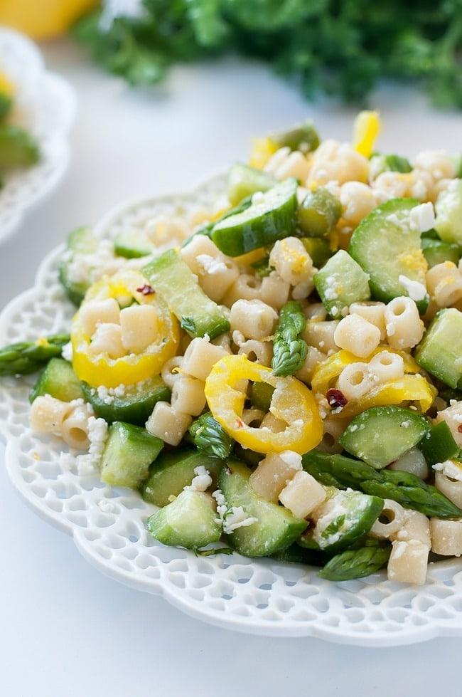 Lemon Asparagus Salad