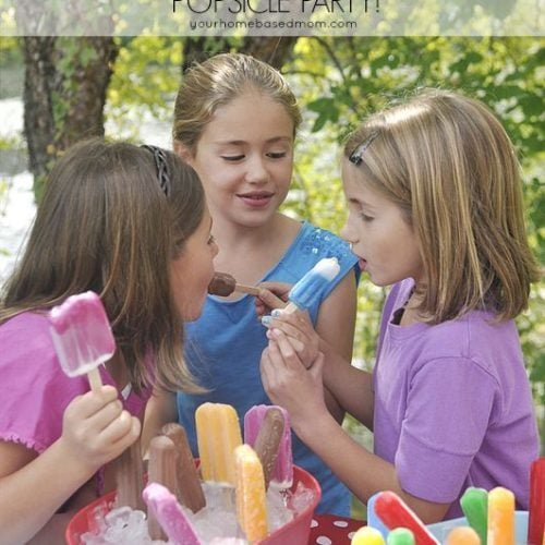 Celebrate with a Popsicle Party!!
