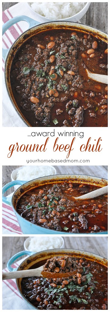 Award Winning Ground Beef Chili