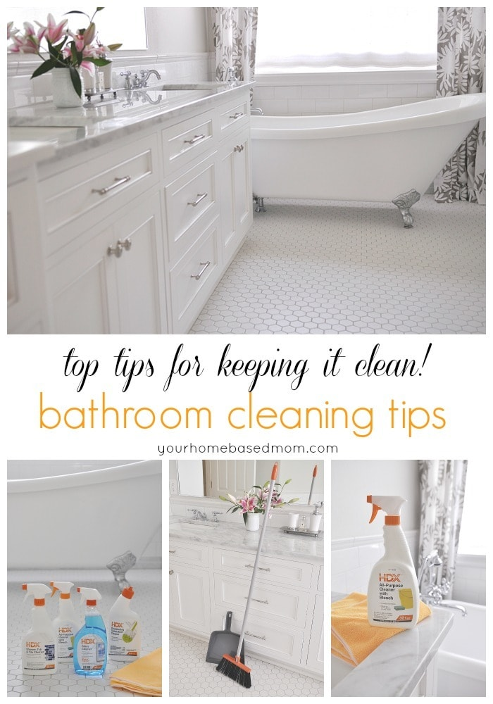 Bathroom Cleaning Tips Your Homebased Mom