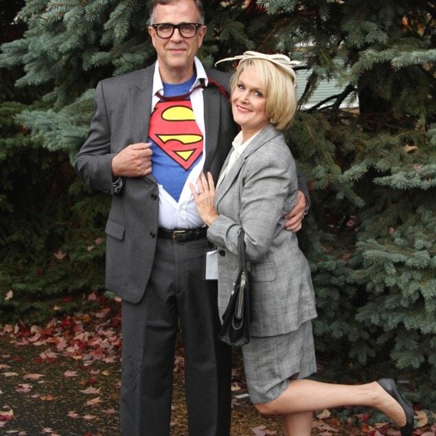 Clark Kent and Lois Lane Costume Idea