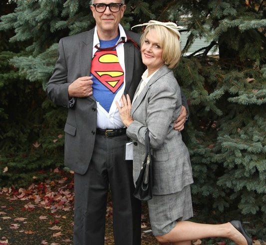 Clark Kent and Lois Lane Halloween Costumes