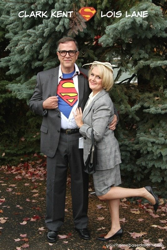 Clark Kent and Lois Lane Halloween Costumes