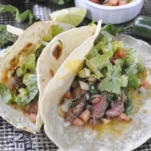Costa Vida Copycat Steak Tacos