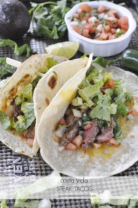 Costa Vida Steak Tacos