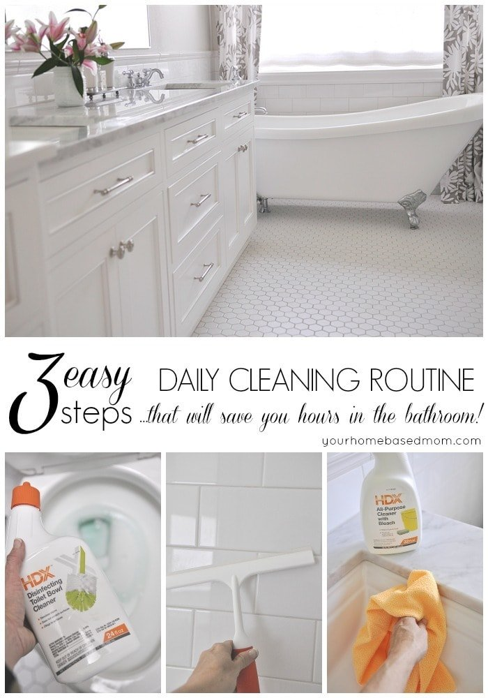Bathroom cleaning tips your homebased mom for Bathroom cleaning ideas