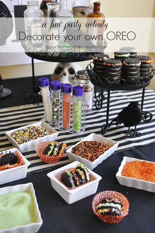 Decorate your Own Oreo Party Activity