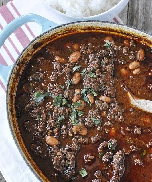 Ground Beef Chili Leigh Anne Wilkes Prize Winning Chili Recipe