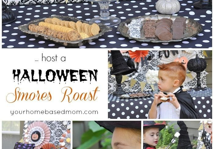 Halloween S'mores Roast and Spooky Sodas