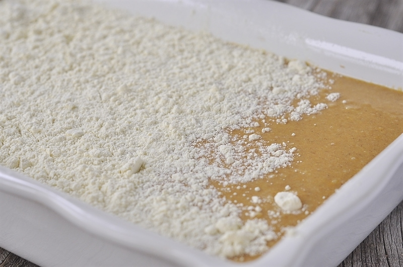 Pumpkin Pie Cake batter