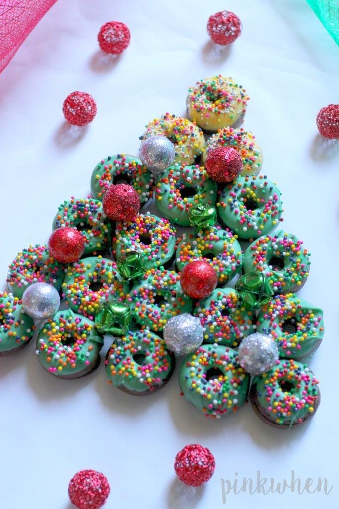 Christmas-Donut-Dessert-Tree