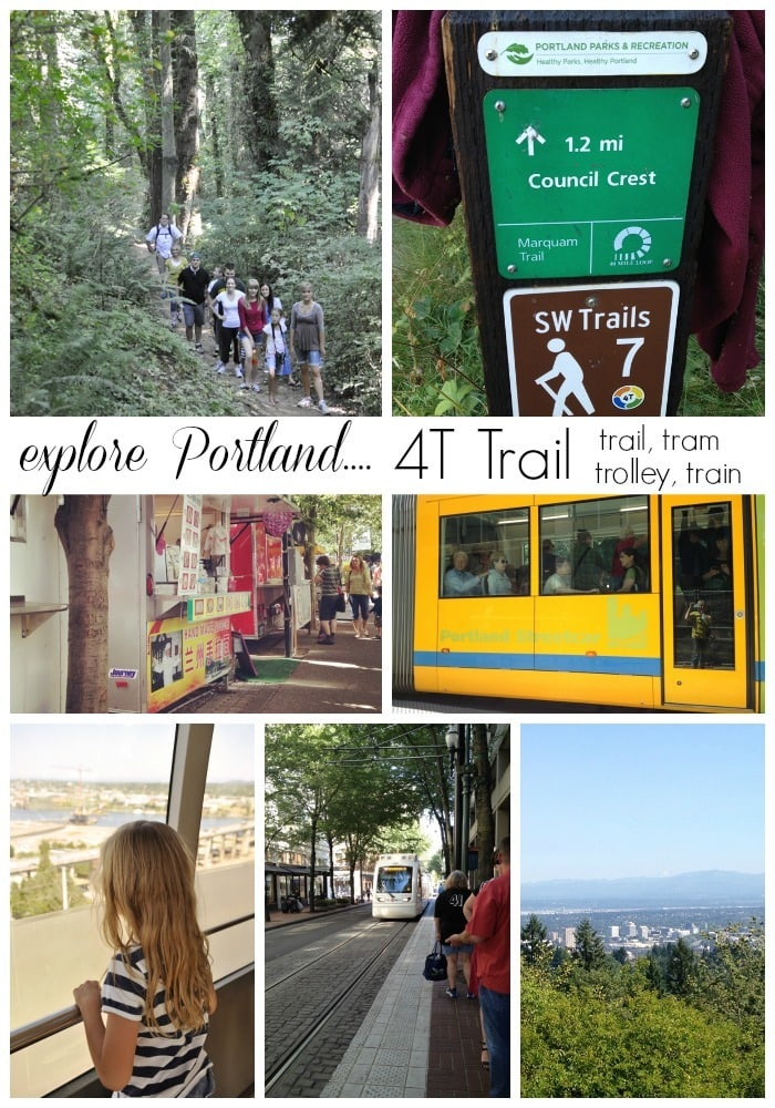 Explore Portland on the 4T Trail