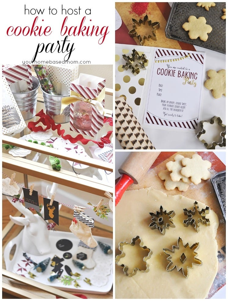 How to host a cookie baking party