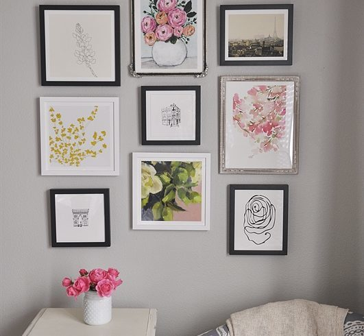 Minted Gallery Wall