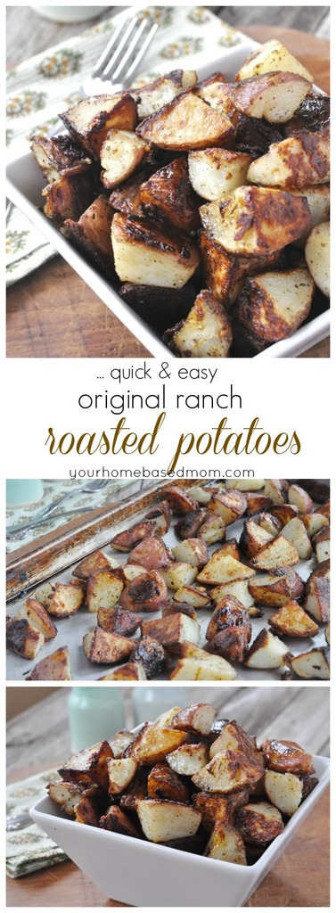 Ranch Roasted Potatoes in a bowl