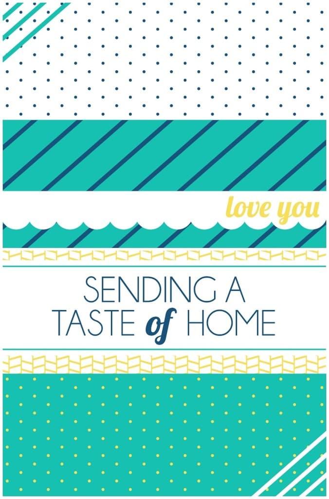 Sending a Taste of Home.