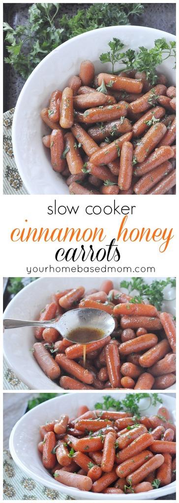 Slow Cooker Cinnamon Honey Carrots C