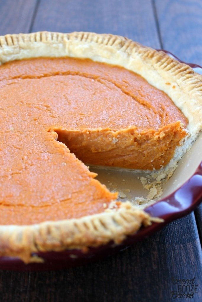 Sweet Potato Pie is a must make Southern classic, perfect for your holiday table!