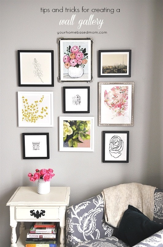 Tips and Tricks for creating a Wall Gallery