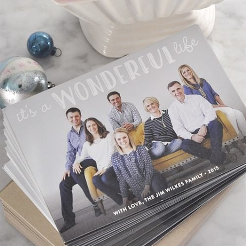 2015 Christmas Card & $250.00 Minted Giveaway