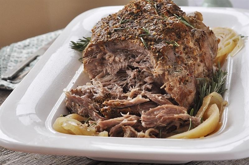 Crock Pot 5 ingredient Pork Roast