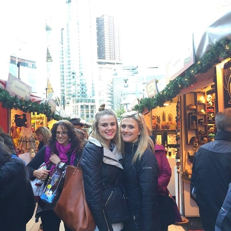 New York Holiday Market Shopping