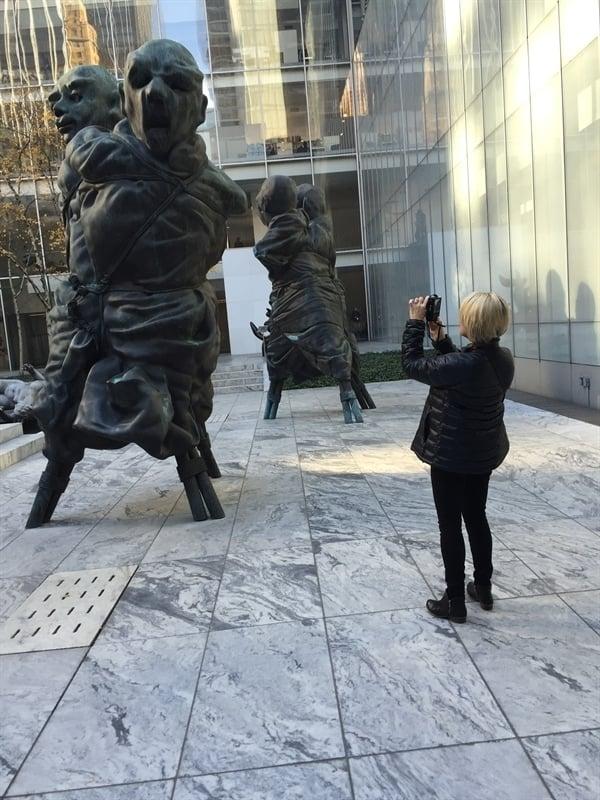 Sculpture Garden at MOMA