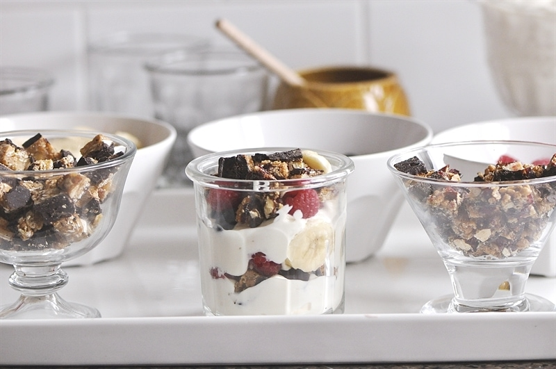 Make your Own Yogurt Parfait Bar