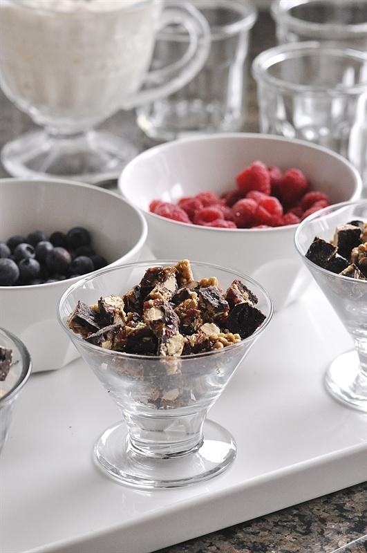 Make Your Own Yogurt Parfait Bar - your homebased mom