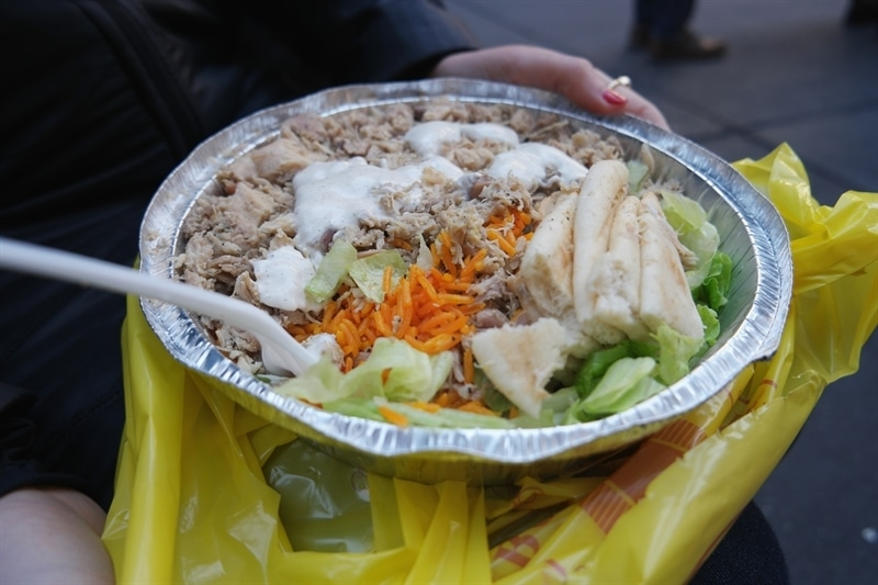Halal Guys CHicken and Rice