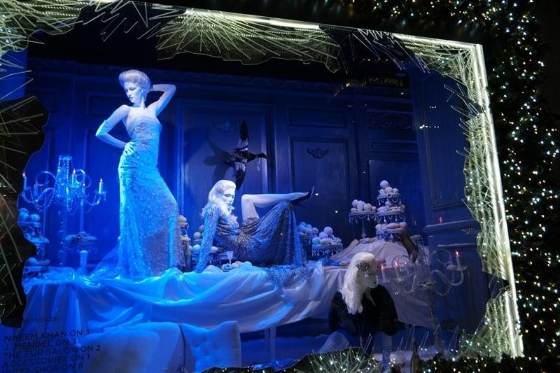 Saks Fifth Avenue Christmas Windows
