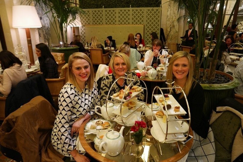 Tea at the Palm Court at the Plaza