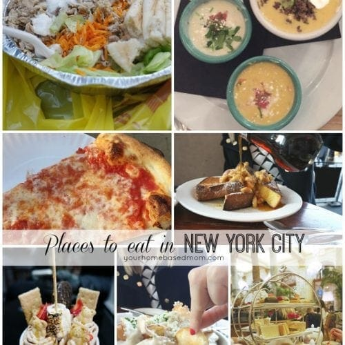 Places to eat in New York City