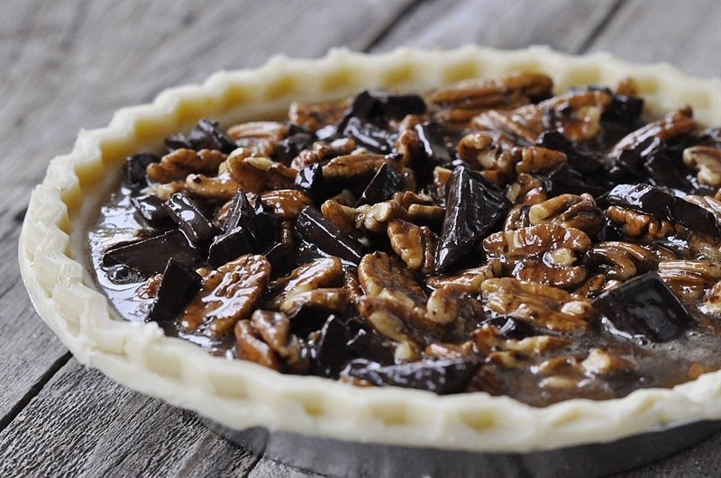 ... slice of pie, drizzle it with some additional salted caramel sauce