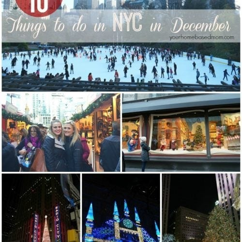Top Ten Things to do in New York City in December