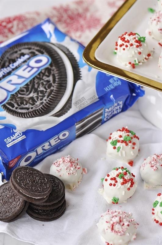 White Chocolate OREO Cookie Balls