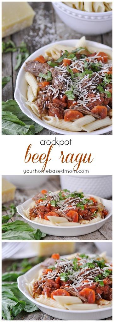 crockpot beef ragu