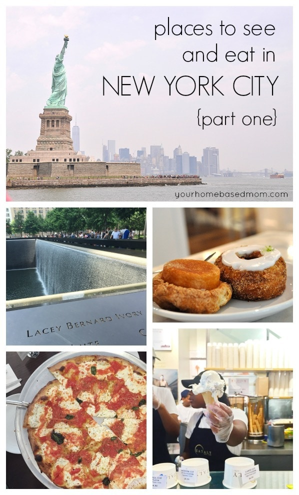Places to go and eat in NYC