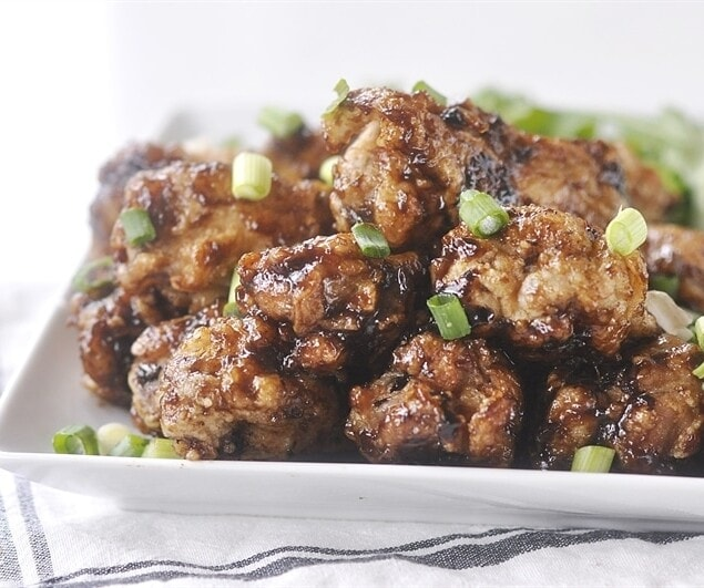 Balsamic & Roasted Garlic Chicken Wings