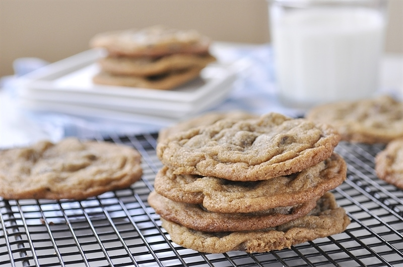 Brown Butter Chocolate Chip Cookies - your homebased mom