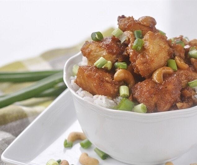 Crockpot Cashew Nut Chicken