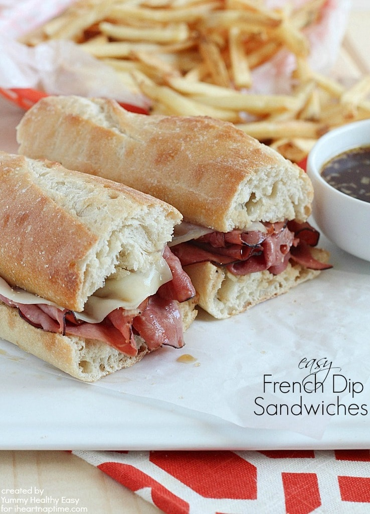 weekly meal plan #11 - Easy-French-Dip-Sandwiches
