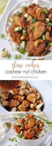 Slow Cooker Cashew Nut Chicken C