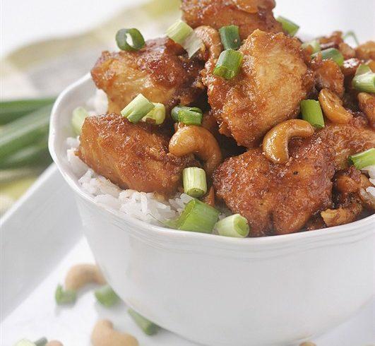 Slow Cooker Cashew Nut Chicken