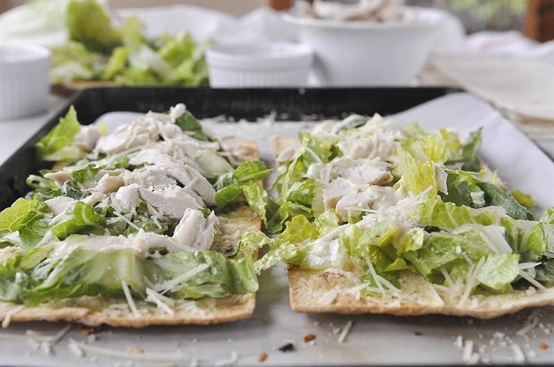 Caesar Salad Flatbread