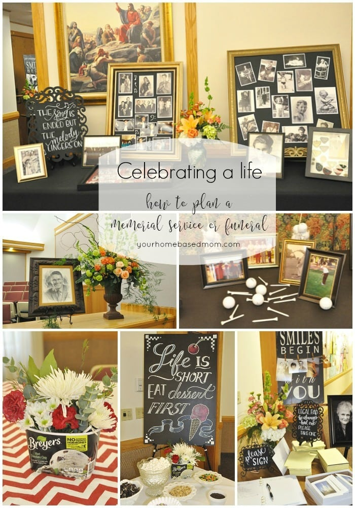 Celebrating A Life How To Plan A Funeral Memorial Service